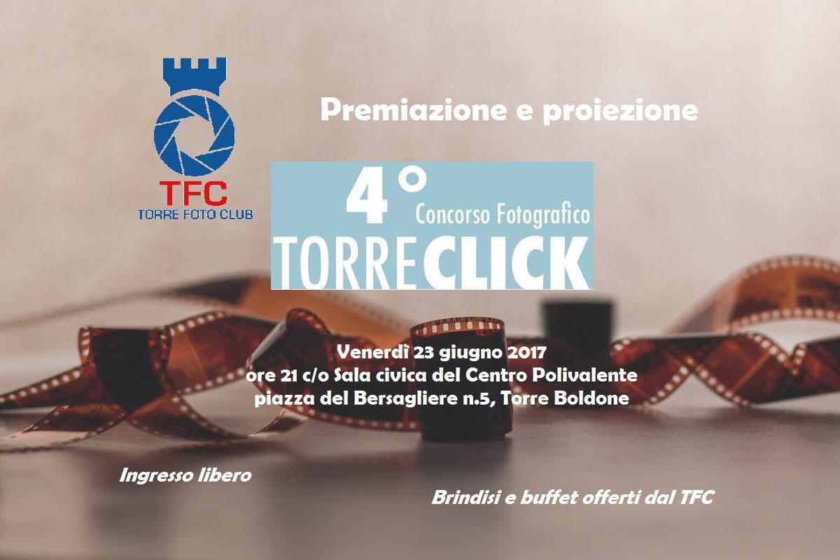 TORRE CLICK 2017: premiazione e proiezione