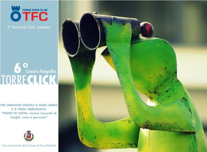 Al via le iscrizioni per il TORRE CLICK 2019, 6° edizione del concorso fotografico organizzato dal Torre Foto Club.